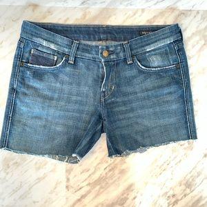 Citizens of Humanity Cut Off Denim Shorts